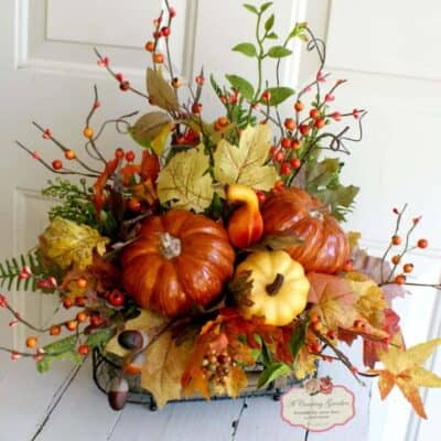 Decorating for Fall…in JULY!!   What??